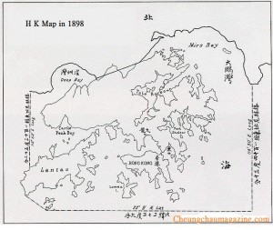 H K MAP IN 1898