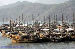 Cheung Chau Fishing Boats